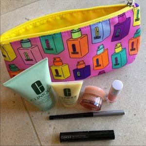Clinique Bag & MINI Skincare / Beauty Items